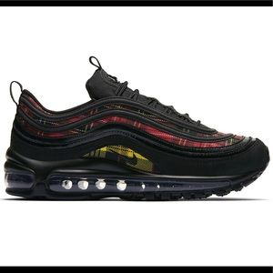 Nike Air Max 97 Tartan Plaid Size 7.5 NEW